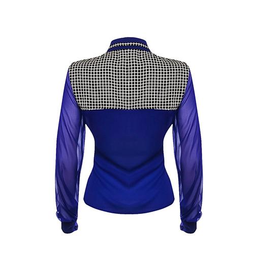 #peggy Silk Blouse Shirt