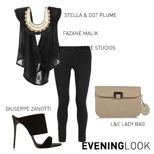 ISABELLE TOP EVENING STYLING