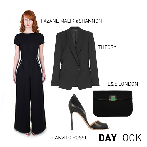SHANNON JUMPSUIT DAY LOOK