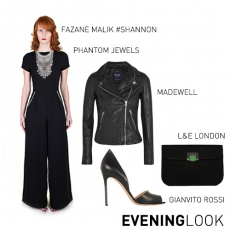 SHANNON JUMPSUIT EVENING LOOK