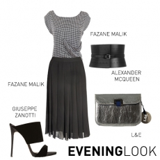 KATLYNN TOP EVENING LOOK