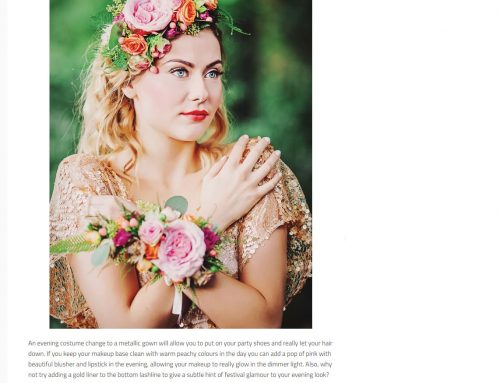 Wedding Ideas Magazine – Our Bespoke Bridal Designs Featured – April 2016